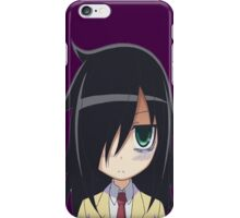 WataMote-Tomoko Kuroki iPhone Case/Skin