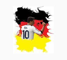 Mesut Ozil with Germany Flag Unisex T-Shirt