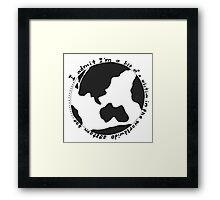 ♡ Worldwide System ♡ Framed Print