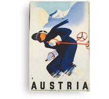Ski Austria Canvas Print