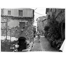 Steady Climb through an Old Castle Poster