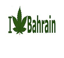 I Love Bahrain by Ganjastan