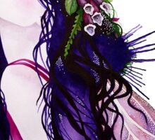 The Foxglove Faerie Sticker