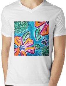 Bees and Such Mens V-Neck T-Shirt