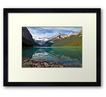 Lake Louise Splendour Framed Print