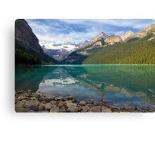 Lake Louise Splendour Canvas Print