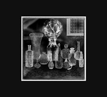 Antique Bottles & Lace - Gothic Decorations Womens Fitted T-Shirt