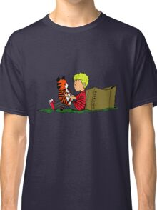 The Many Adventures of Hobbes Classic T-Shirt