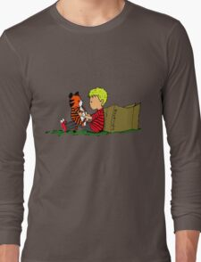 The Many Adventures of Hobbes Long Sleeve T-Shirt