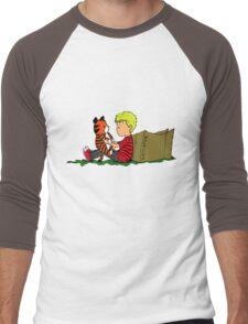 The Many Adventures of Hobbes Men's Baseball ¾ T-Shirt