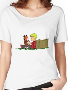 The Many Adventures of Hobbes Women's Relaxed Fit T-Shirt