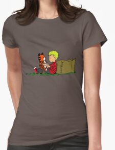 The Many Adventures of Hobbes Womens Fitted T-Shirt