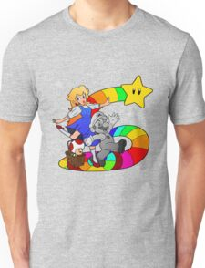 Follow The Rainbow Road! Unisex T-Shirt