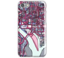 Abstract Map of Washington DC iPhone Case/Skin