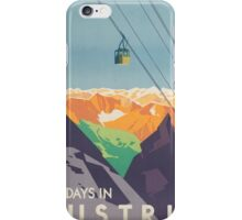 Austrian Cable Car iPhone Case/Skin