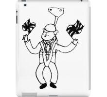 Boris On A Zipline iPad Case/Skin