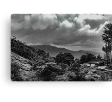 Hills Of Wayanad Canvas Print