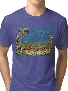 Into the Blue! Tri-blend T-Shirt