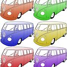 VW Campers by Colin Bentham