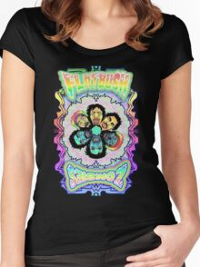 Flatsbush Zombies Women's Fitted Scoop T-Shirt