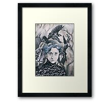 Be My Wings Framed Print