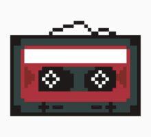 8 bit cassette tape  Kids Tee