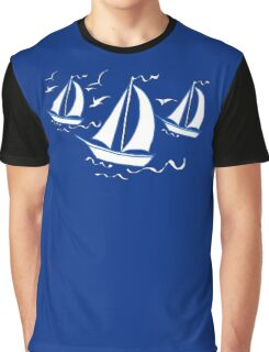 Racing Yachts Graphic T-Shirt