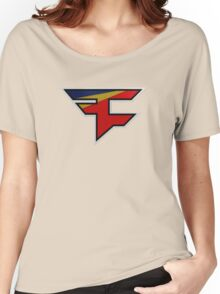Faze 2.0 | Performance SS | Red Background | High Quality! Women's Relaxed Fit T-Shirt