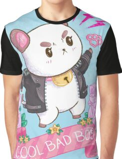 Cool Bad Boy Graphic T-Shirt