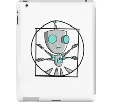 Vitruvian Gir iPad Case/Skin
