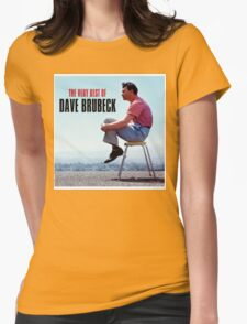 Dave Brubeck Womens Fitted T-Shirt