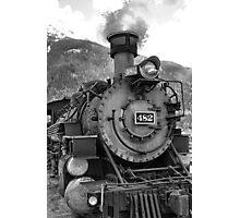 Durango Silverton Engine 482 Photographic Print