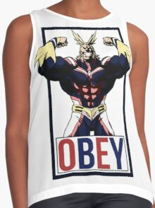 OBEY All Might - My Hero Academia  Contrast Tank