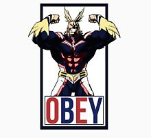 OBEY All Might - My Hero Academia  Unisex T-Shirt
