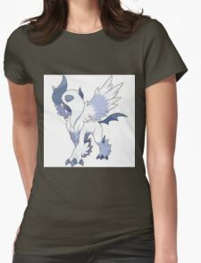 Absol Pokemon Womens Fitted T-Shirt