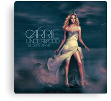 Carrie Underwood-Blown Away Canvas Print