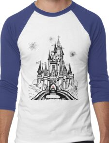Mouse in Love Men's Baseball ¾ T-Shirt