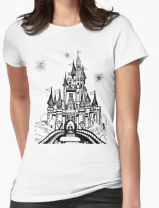 Mouse in Love Womens Fitted T-Shirt