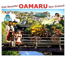 The Bridges of Oamaru. Photographic Print