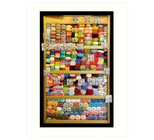 Wool Cabinet - Saint Petersburg - Russia Art Print