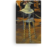 Harry potter sorting hat Canvas Print