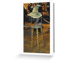 Harry potter sorting hat Greeting Card