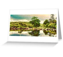 Stepping Stones. Greeting Card