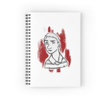 John Watson- Red Version Spiral Notebook