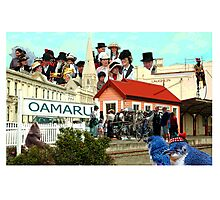 Oamaru New Zealand Photographic Print