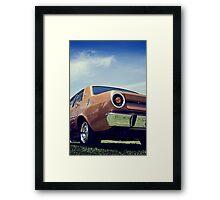 XR GT Framed Print