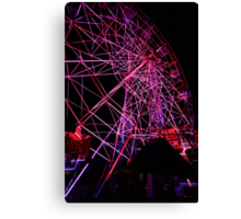 Ferriswheel of Death, Dark Mofo 2014  Canvas Print