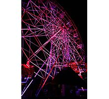 Ferriswheel of Death, Dark Mofo 2014  Photographic Print