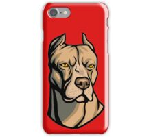 Pit Bull Head iPhone Case/Skin