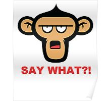 Say What?! Poster